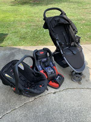 Britax B-Agile Stroller, Car Seat and 2 Bases for Sale in Gibbsboro, NJ