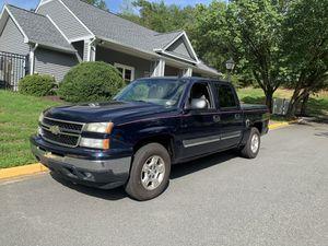 2006 Chevrolet Silverado crew cab 4x4 for Sale in Stafford, VA