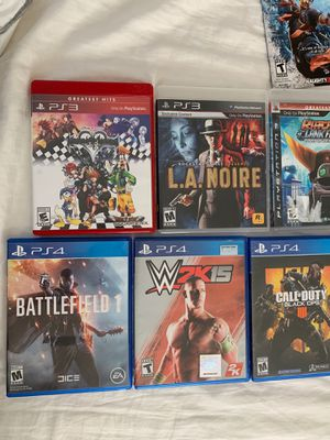 PS3 And ps4 games for Sale in National City, CA