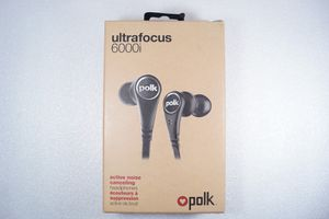 Polk Audio Ultra Focus 6000i High Performance Active Noise Canceling Headphones for Sale in Rancho Cucamonga, CA