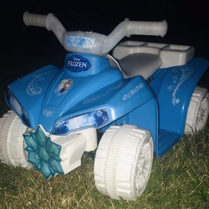 Frozen Electric kids four wheeler With The Lights for Sale in Haines City, FL