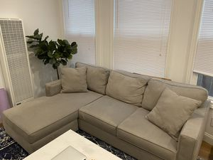 Living spaces Egan II sectional couch for Sale in San Francisco, CA