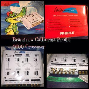 Brand new CALIFORNIA PROFILE Q100 CROSSOVER MULTI CHANNEL for Sale in Norwalk, CA