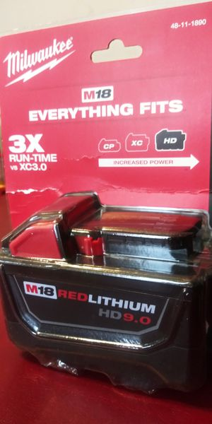 Milwaukee M18 18- Lithium-Ion XC VoltExtended Capacity Battery Pack 5.0Ah (2-Pac). for Sale in Parma Heights, OH