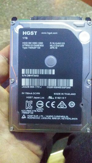 1 TB hard drive for Sale in Marysville, WA