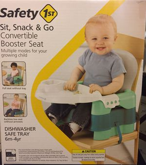 Convertable Booster Seat for Sale in Chicago, IL