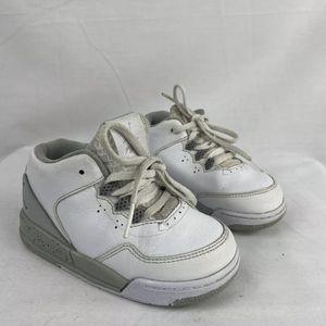 Nike Air Jordan Flight Origin 2 BT Toddler White/ Gray 705162-100 Size 8C for Sale in Peoria, IL
