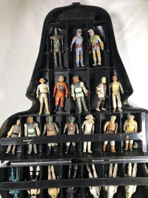 Star Wars action figure collection w/case or can sell individual for Sale in Modesto, CA