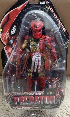 Neca Predators 7 Inch Series 7 - Big Red Predator Action Figure for Sale in Gardena, CA