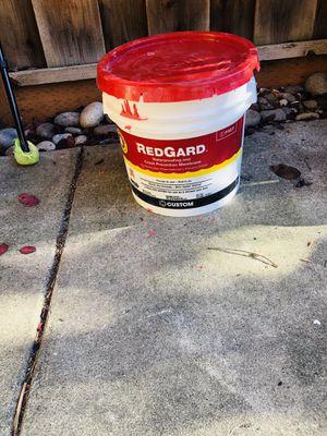 Waterproof-redgard for Sale in Gilroy, CA
