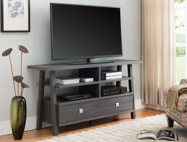 New Grey Tv Stand