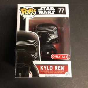 Funko Pop - Star Wars Kylo Ren Target exclusive for Sale in San Antonio, TX