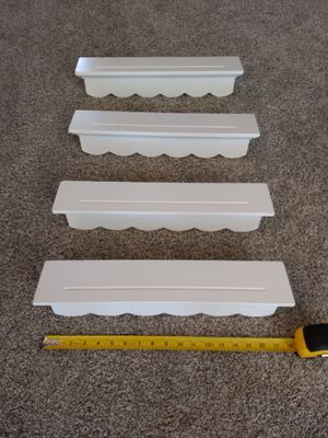 White Wall Shelves Decorative for Sale in Raeford, NC