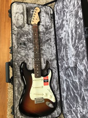 Fender American Professional Stratocaster 3 tone sunburst for Sale in Farmers Branch, TX