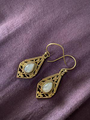 Moonstone Earrings for Sale in Los Angeles, CA