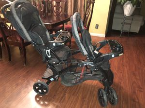Baby trend Sit and stand double stroller for Sale in Riverside, CA
