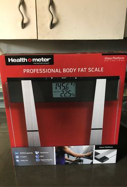 Health o meter Professional Body Fat Scale for Sale in Chelan,  WA
