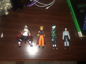 naruto action figures for Sale in Tampa, FL