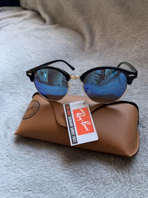 Rounded Metals Blue Sunglasses for Sale in San Jose, CA