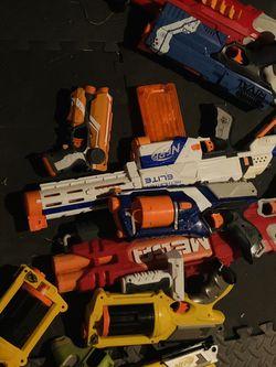 Massive Nerf Gun Lot, ready for a neighbourhood War for Sale in Sharon,  MA
