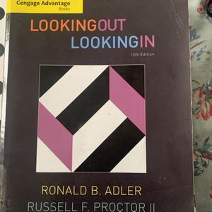 looking out looking in 13th Edition for Sale in San Leandro, CA