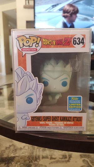 Gotenks Super Ghost Kamikaze Attack Funko Pop for Sale in Rancho Cucamonga, CA