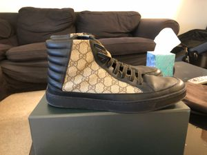 Gucci GG Supreme Mens High Top Sneakers for Sale in Seattle, WA