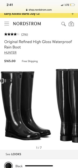Hunter rain boots for Sale in Las Vegas, NV