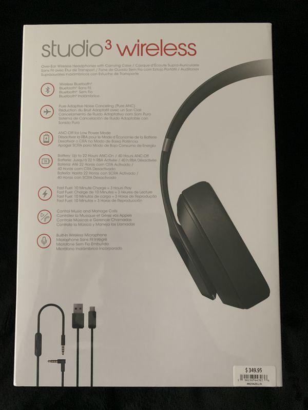 Beats Studio 3s Wireless- Brand new , still sealed