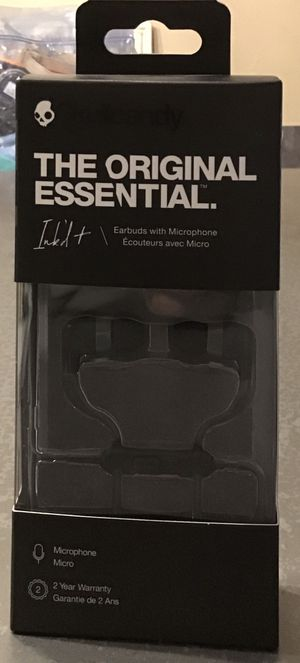 Skullcandy ink'dt earbuds with microphone for Sale in Fort Lauderdale, FL