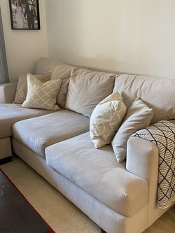 Beige Sectional Couch for Sale in San Diego,  CA