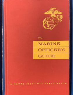 1956 1st edition vintage book: The Marine Officer's Guide for Sale in Fort Lauderdale,  FL