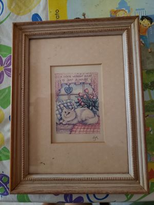 5x7 Cat lovers Picture for Sale in Stockbridge, GA