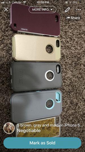 IPHONE 5/5s/5c cases! for Sale in Salem, VA