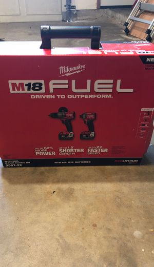 Milwaukee Fuel M18 2997-22 Kit for Sale in Stafford, TX