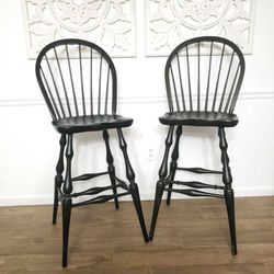 Pair Of Windsor Bar Stools for Sale in Gaithersburg,  MD