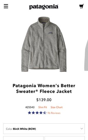 Patagonia brand new gray jacket for Sale in Irvine, CA
