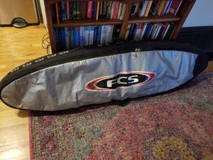 "FCS Padded, Double Surfboard Travel Bag 6'7"" for Sale in Santa Barbara, CA"
