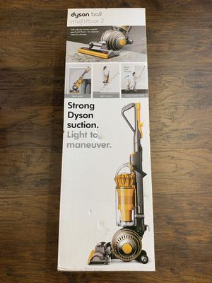 Dyson Ball Multifloor 2 Bagless Upright Vacuum - Yellow/Iron for Sale in Garden Grove, CA