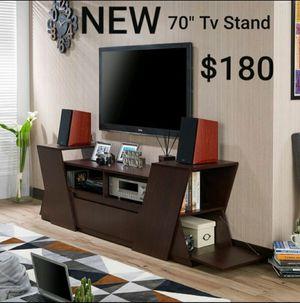 """70"""" TV Stand in Espresso for Sale in Montebello, CA"""