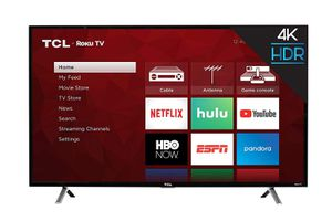 "TCL 43"" Class 4K UHD Roku Smart TV for Sale in Miami Shores, FL"