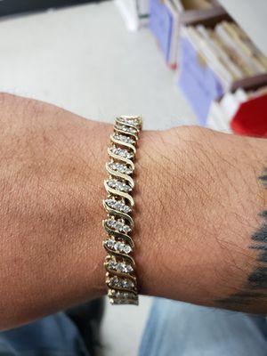 10k tennis bracelet for Sale in San Antonio, TX