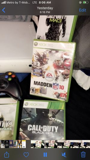 Xbox 360 and Misc Games for Sale in Gloucester, MA