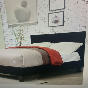 Queen Platform Bed Frame On Sale for Sale in Federal Way, WA