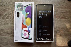 Brand New Samsung Galaxy A51 White 128 GB for Sale in Alexandria, VA