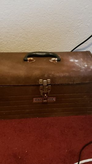 Old craftsman tool box for Sale in Midland, TX