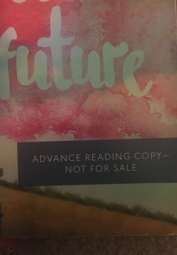The foreseeable future book ADVANCED READING COPY