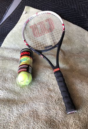 Wilson stinG lite graphite tennis racket for Sale in Corona, CA