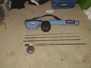 Fly fishing rod, reel, and case for Sale in Oregon City, OR