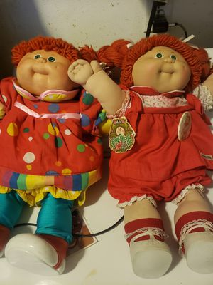 Cabbage patch dolls with signature for Sale in Placentia, CA